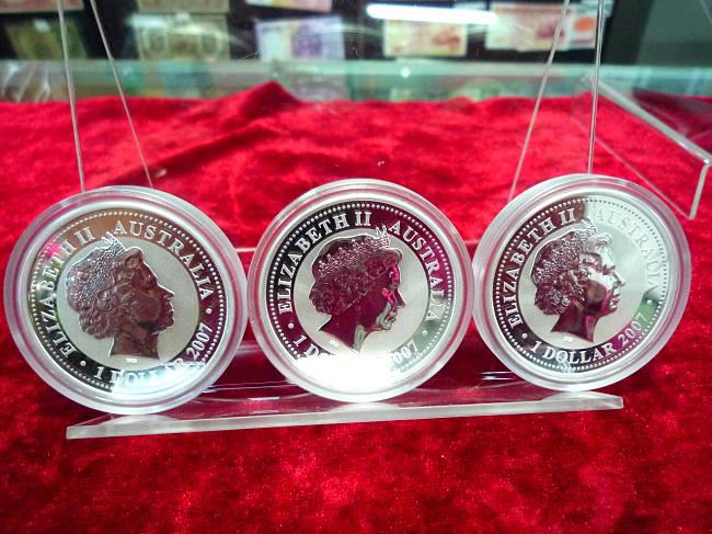 澳洲十二生肖银币一套