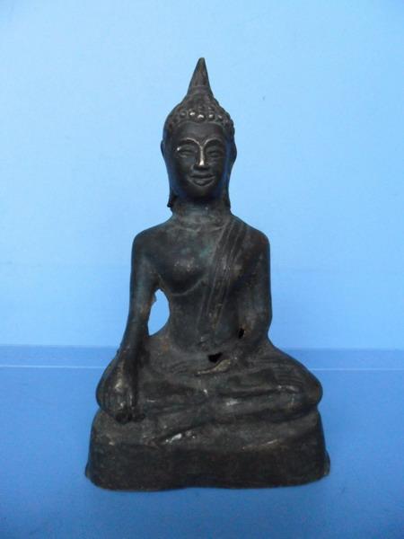 古玩竹木牙雕 民国回流铜佛像