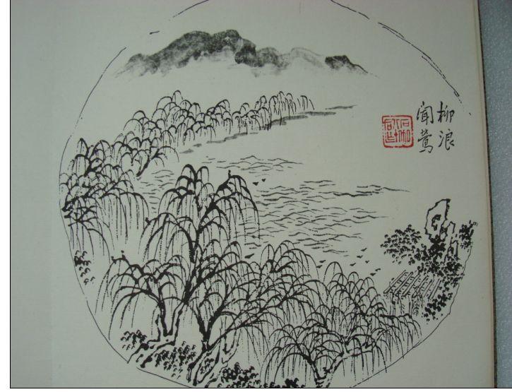 杭州西湖儿童画_杭州西湖简笔画