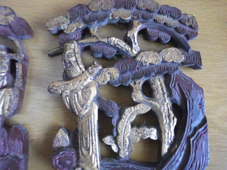 木雕床头花板-藏品交易区-竹木雕刻交易区