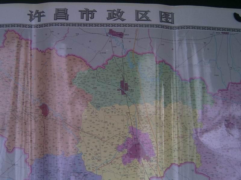 许昌市区地图 许昌市区地图全图 新版许昌市区地图全图