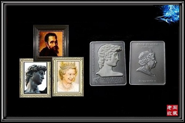 ...米开朗基罗 世界美术史上最值得夸耀的雕塑 大卫 高浮雕镶嵌...