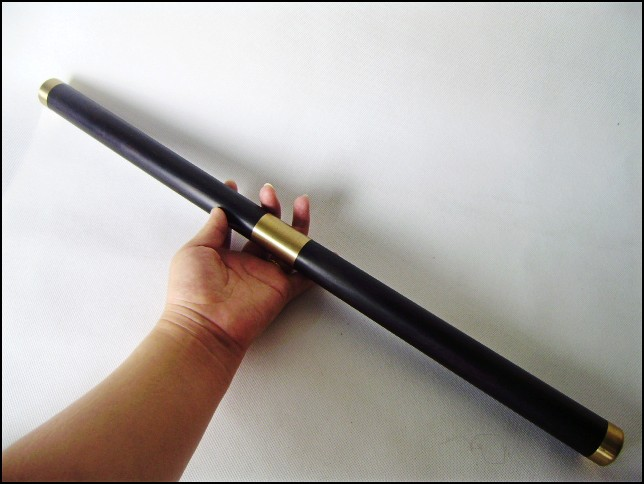 批发防*身用双节棍红木工艺品 乌木紫光檀