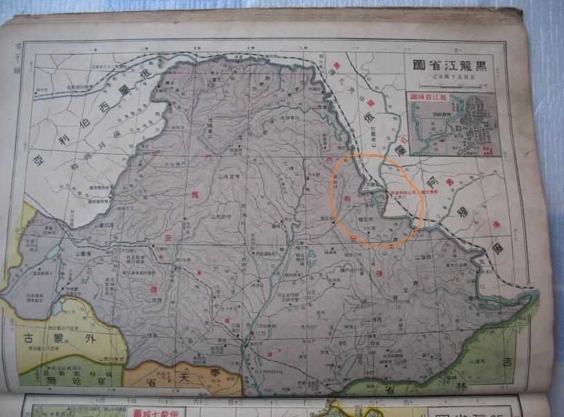 民国前期地图册,五十至九十年代各地地图图片