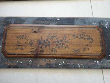 清代木板上的简笔画三片60元