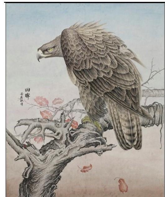 【手绘封】 荷花,金鸡