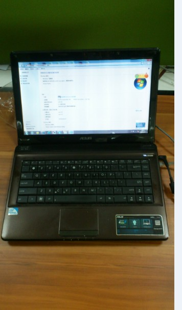 出华硕k42j笔记本电脑一台