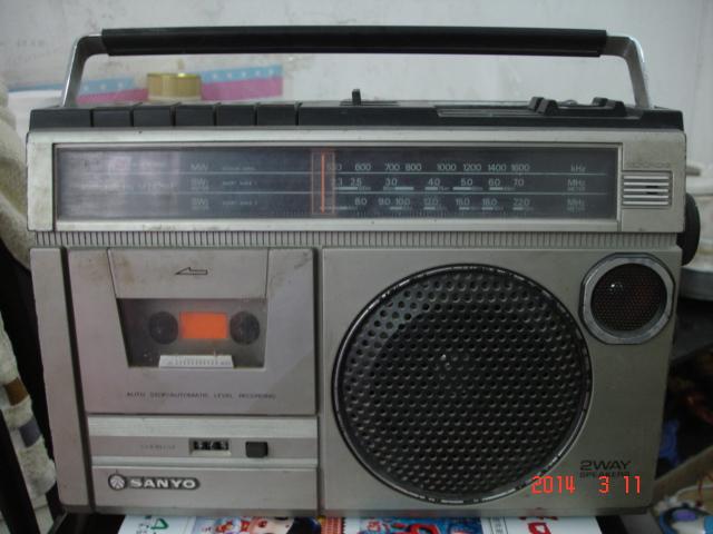 收藏好品---熊猫601晶体管收音机