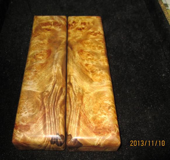 """叫""""水波纹金丝楠木""""木纹中的结晶明显多于普通楠木"""