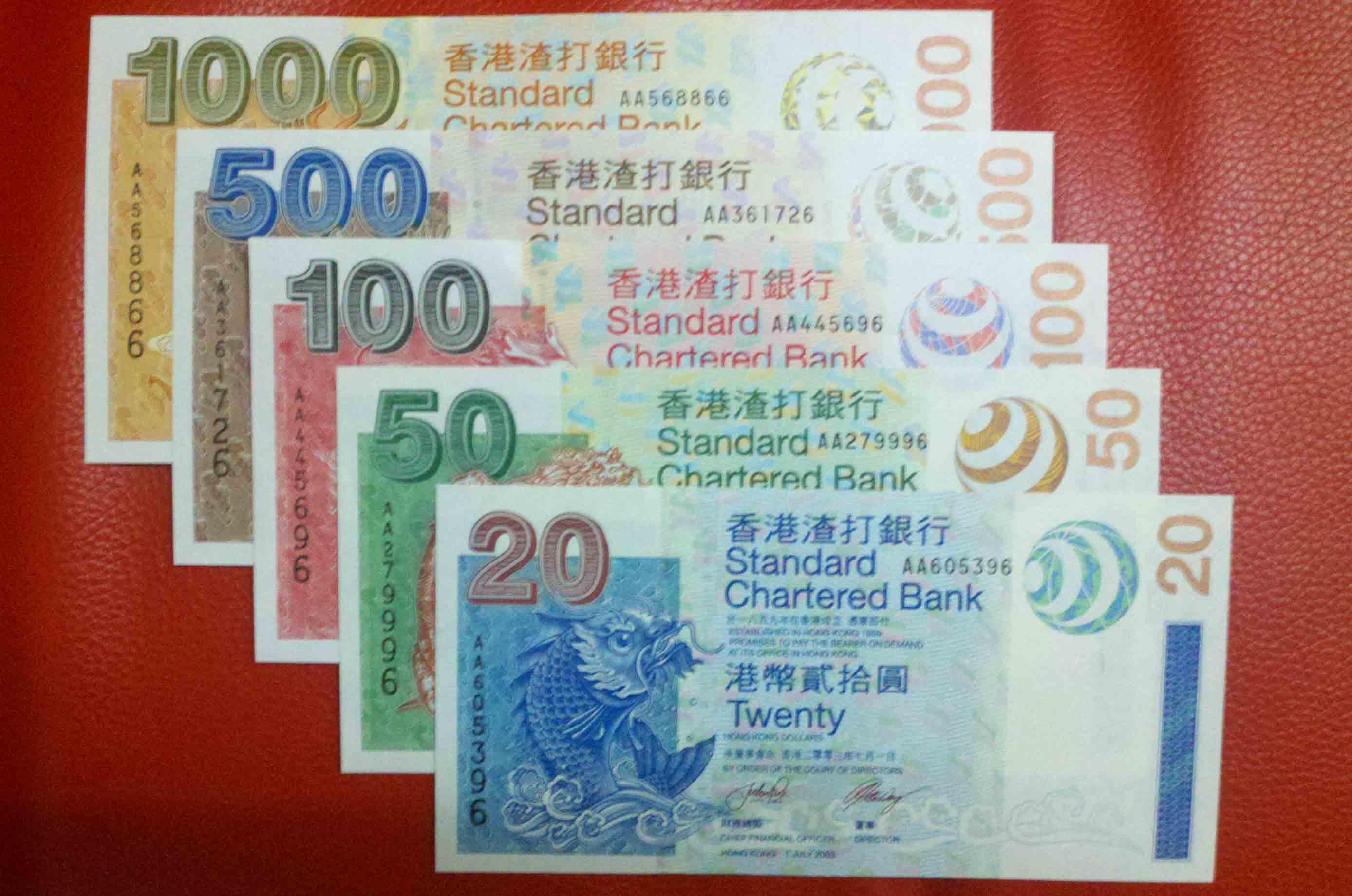 请问2003年香港渣打银行版的港币是否能兑换人民币?面值1000元